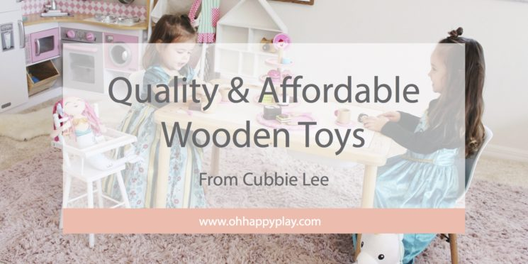 Quality & Affordable Wooden Toys From Cubbie Lee