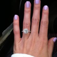 Great Nail Polish to wear with your Engagement Ring