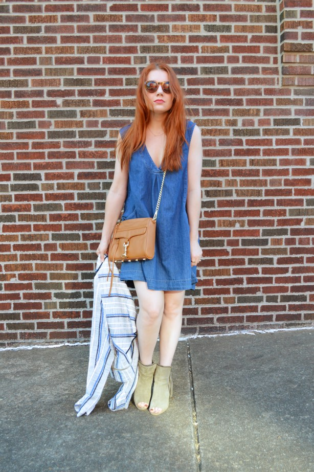 Rebecca Minkoff MAC Crossbosy Purse and Striped Jacket Summer Outfit - Oh Julia Ann (3)