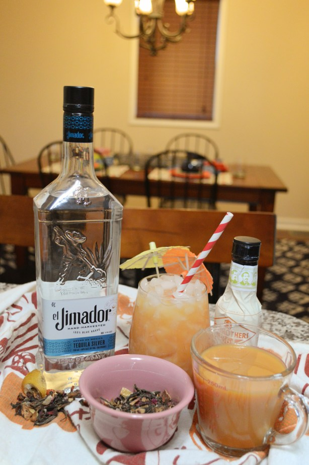 Tropical Tea-Quila Cocktail Recipe - Iced Tea with Fruit Juice and Tequila - Oh Julia Ann x Drizly (3)