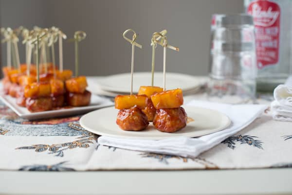 pics Cocktail Meatballs with Creamy Cranberry Sauce