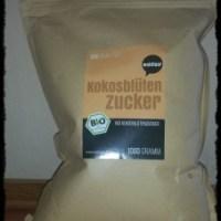 Achtung Produkttest - Bio Kokosblütenzucker 1kg