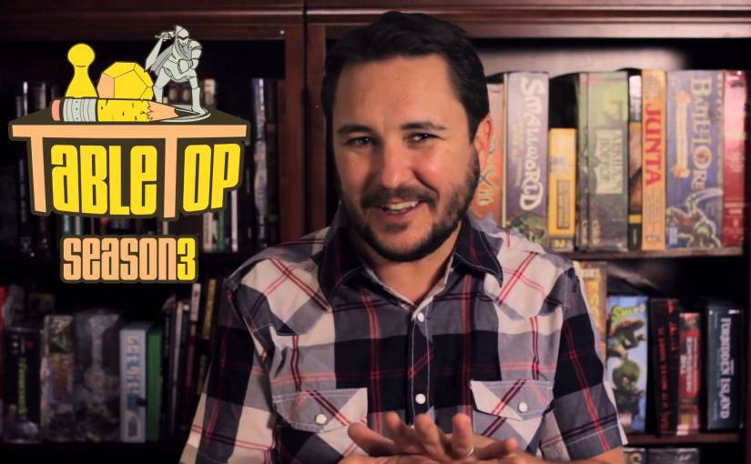 Is Wil Wheaton's Table Top just a reality show for board game geeks?