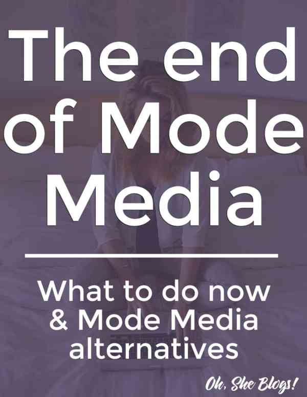 The End of Mode Media: What to do and Mode Media alternatives