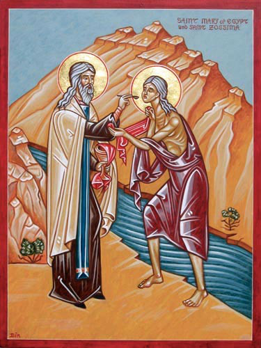 St. Mary of Egypt Commemorated on the Fifth Sunday of Great Lent