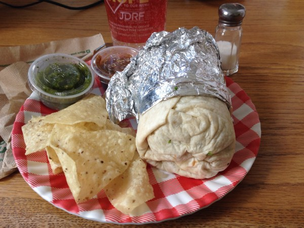 Vegan Burrito Moe's
