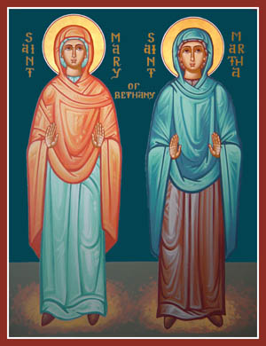 Mary&Martha Icon