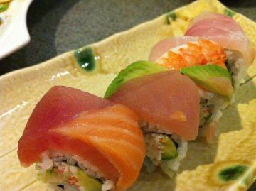 Raibow Sushi at Haru Ichiban