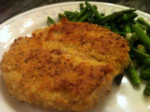 Easy Paleo Almond Crusted Pork Loin Chops