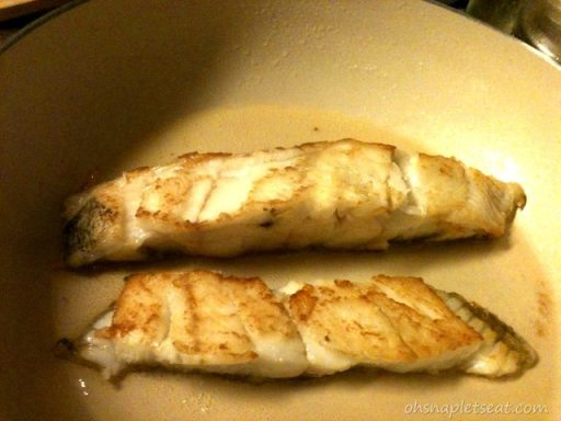 Pan Fried Cod - Easy and Yummy way to get some seafood in your diet!