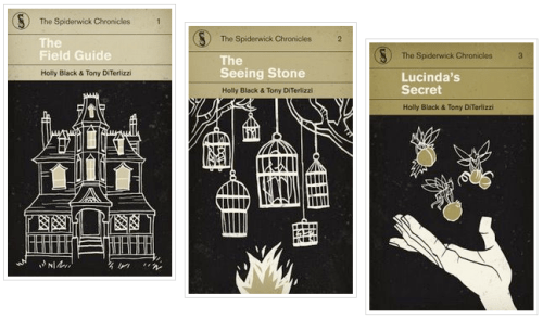 Spiderwick Chronicles Reimagined Book Covers 500x294 Book Covers Reimagined