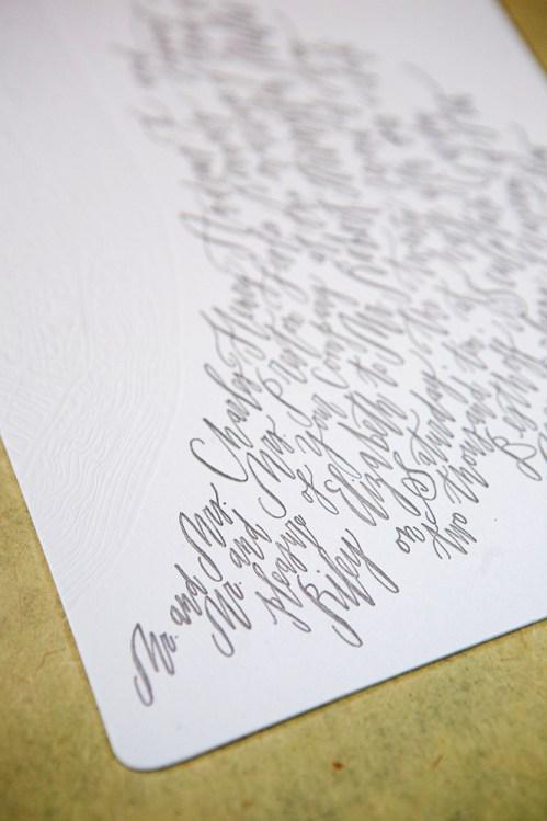 Betsy Dunlap Calligraphy Letterpress Wedding Invitations Text 499x749 Riley + Roberts Modern Calligraphy Wedding Invitations