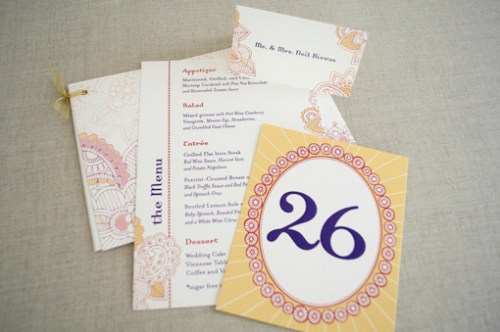 Hindu Wedding Stationery 500x332 Hindu Wedding Stationery