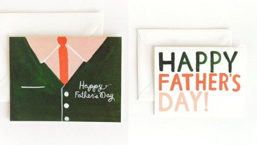 Rifle Paper Fathers Day 500x283 Seasonal Stationery: Fathers Day Cards