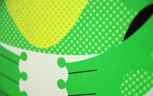 a modern eden frog poster detail 500x312 A Modern Eden Nursery Poster Series