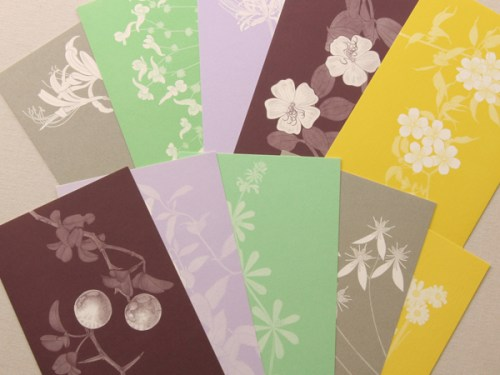 floral stationery 500x375 Winged Wheel