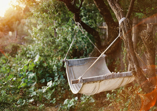 summer hammock {happy weekend!}