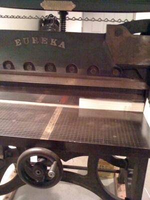 11lastcut 300x400 The Printing Process: Screen Printing
