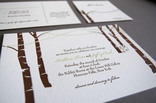 Pistachio Press Letterpress Wedding Invitations Celebration3 500x331 Wedding Invitations   Pistachio Press