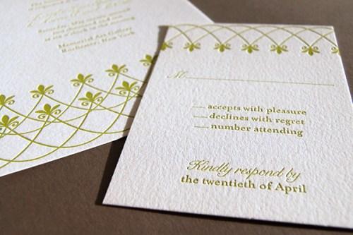Pistachio Press Letterpress Wedding Invitations Gated Terrace2 500x333 Wedding Invitations   Pistachio Press