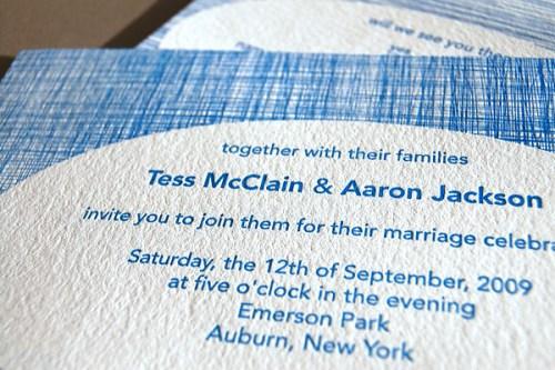Pistachio Press Letterpress Wedding Invitations Linen 500x333 Wedding Invitations   Pistachio Press