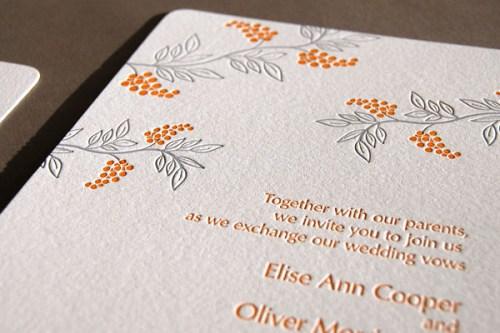 Pistachio Press Letterpress Wedding Invitations Wistful2 500x333 Wedding Invitations   Pistachio Press