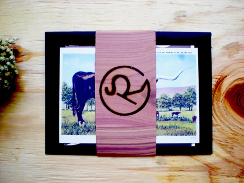 Texas Ranch Wedding Invitations Wood Veneer 500x375 Texas Ranch Wedding Invitations