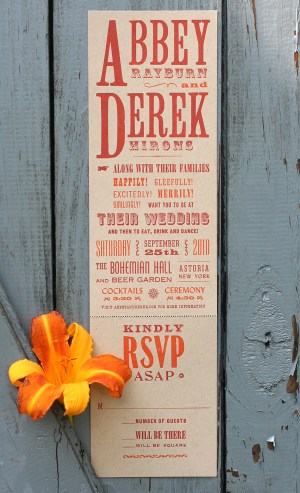 abbeyderek1 300x493 The Printing Process: Letterpress Printing with Antique Type