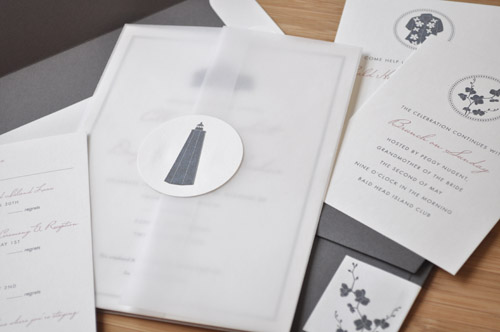 hello tenfold vellum wedding invitations The Printing Process: Digital Printing