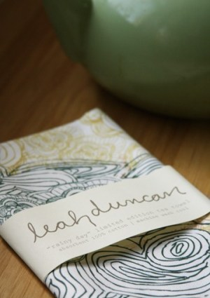 leah duncan tea towel 300x450 Paper Artwork   Leah Duncan