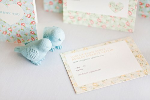 mitchell dent english floral pattern wedding invitation rsvp 500x333 Wedding Invitations   Mitchell + Dent