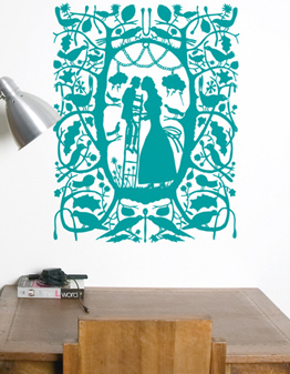 rob ryan wall decal {today I love...}