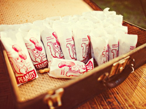 texas ranch wedding invitations peanut favor bags 500x375 Texas Ranch Wedding Invitations