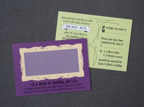 Akimbo Mortlock 7 500x373 Alicia + Ryans Victorian Library Wedding Invitations