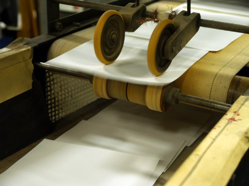 Printing11 500x374 Crane Stationery, A Tour   Part 2