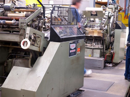 Printing32 500x374 Crane Stationery, A Tour   Part 2