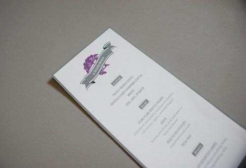 jeshurun wedding invitations coffee books menu 500x341 Jeshurun + Ryans Book and Coffee Inspired Wedding Invitations
