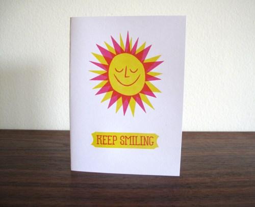 lulu dee letterpress card sun 500x406 Lulu + Dee
