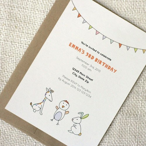 wit whistle kids party invitations 500x500 Quick Pick: Wit + Whistle