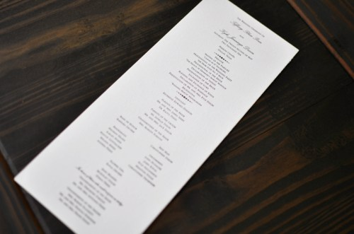 Classic Black White Wedding Calligraphy3 500x331 Classic Black + White Calligraphy