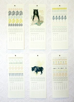 Leah Duncan 2011 illustrated calendar 300x411 2011 Calendar Round Up, Part 5