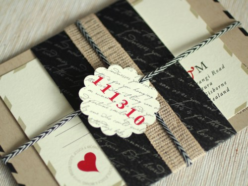 Love Letter Wedding Invitation Suite 500x375 Love Letter Inspired Wedding Invitations