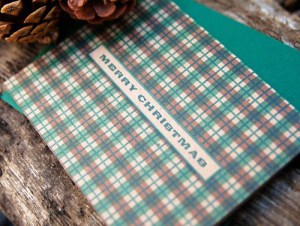 Wild Ink Press Plaid Holiday Cards 300x226 2010 Holiday Card Round Up, Part 1!