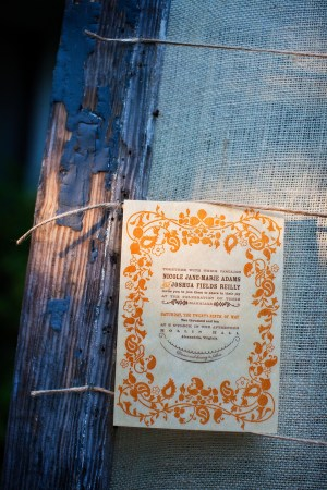 Virginia Balsa Wood Orange Blue Wedding Invitations2 300x450 Nikki + Joshs Balsa Wood Wedding Invitations