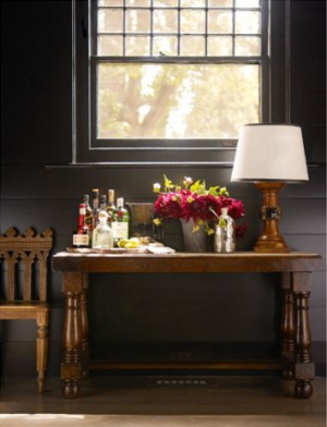 dark room antique table 300x392 {today I love…}