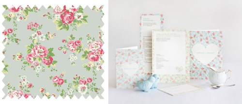floral 500x215 More Paper Inspired Pairings