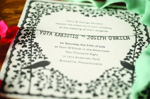 rob ryan papercut wedding invitation 500x332 {today I love…}