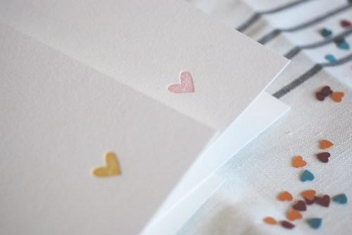 Satsuma Press Letterpress Valentine Card 500x334 Simple + Sweet Valentines