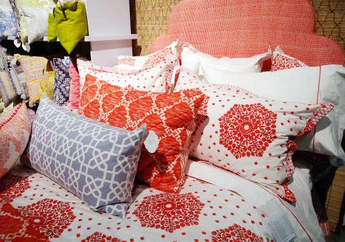 John Robshaw Red White Blue Global Inspired Bedding 500x350 January 2011 NYIGF, Part 2