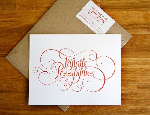 eight hour day letterpress infinite possibilities artwork 500x385 {today I love...}